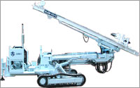 WATERWELL CRAWLER MOUNTED BLAST HOLE DRILL RIG